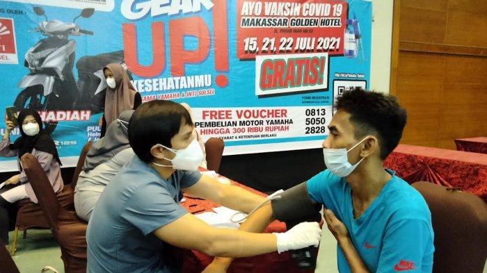 Yamaha SJAM Rampungkan Vaksinasi 3000 Warga Makassar, Gowa dan Maros
