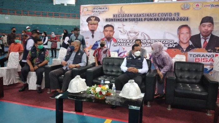 Jelang PON XX Papua, 216 Kontingen Sulsel dan 67 Atlet Papua Divaksin I