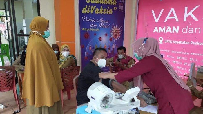 Tahap Kedua, 10 Orang Sasaran Vaksin Hari Pertama