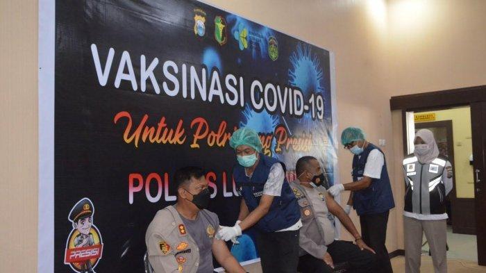356 Personel Polres Luwu Timur Divaksin Sinovac, Kabag Ops: Vaksinnya Aman dan Halal