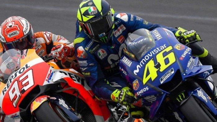 Daftar Gaji Pebalap MotoGP Musim 2020, Marc Marquez Termahal, Valentino Rossi Urutan Berapa?