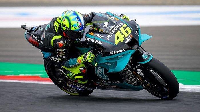 Hasil FP3 MotoGP Belanda 2021, Valentino Rossi Jauh Tinggalkan Marc Marquez, Vinales Paling Depan