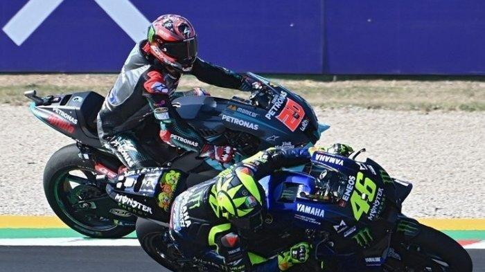 Hasil MotoGP San Marino 2020, Franco Morbidelli Juara, Valentino Rossi Gagal Naik Podium