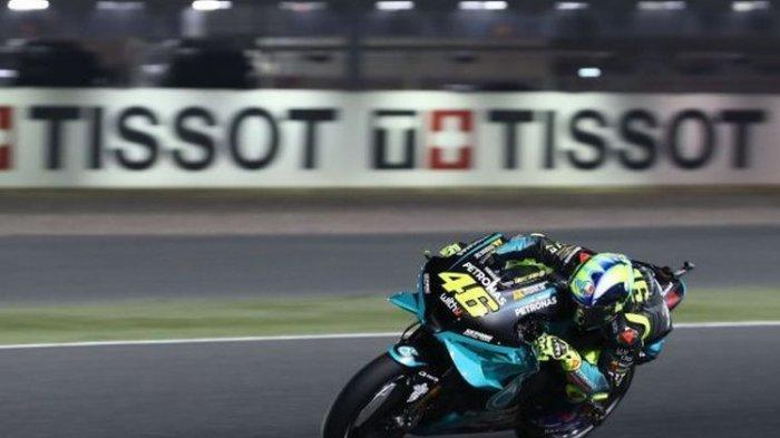 Hasil MotoGP Qatar 2021, Maverick Vinales Posisi 1, Penyebab Rossi Harus Finish Urutan ke-12