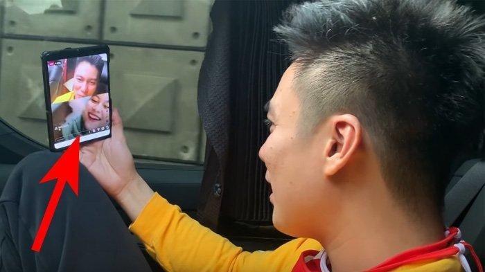 Video Call Netizen Secara Acak, Baim Wong Kaget Ketemu Wanita Cantik Mirip Marshanda Sang Mantan
