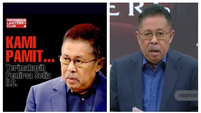 VIDEO Detik-detik Karni Ilyas Presiden ILC TV One Pamit, Minta Maaf: Semoga ILC Bisa Kembali Lagi