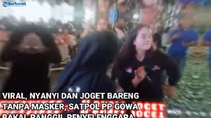 Joget-joget Tanpa Masker Viral di Malino, Pengusaha H Rusli dan Pemilik Kafe Berurusan Satgas Covid