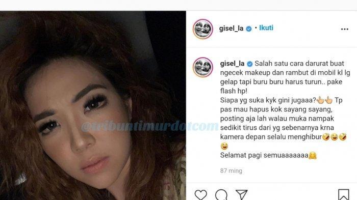 Foto Gisel banyak dicari usai viral video panas mirip dirinya.