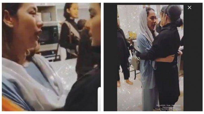 Video Syahrini Peluk BCL di Tahlilan Ashraf Sinclair Dinyinyirin Netizen, Feni Rose Angkat Bicara