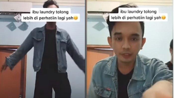 Petugas Laundry Sembrono, Celana Pria Ini Tertukar dengan Kulot Perempuan Videonya Diserbu Netizen