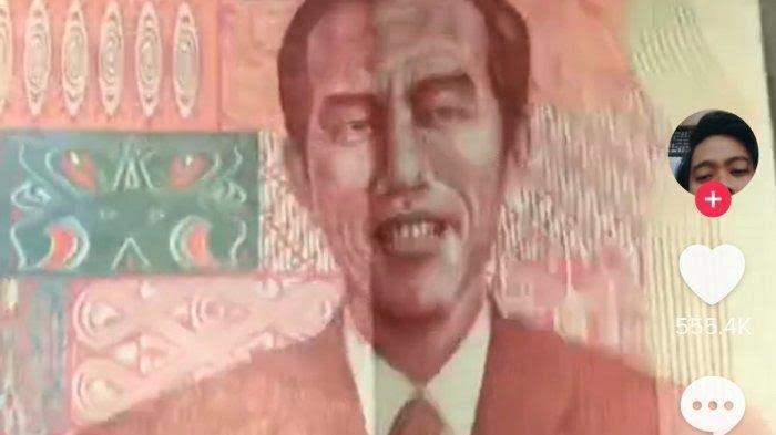 Video: Viral Uang Redenominasi Gambar Presiden Jokowi, Kabarnya Pengunggah Minta Maaf