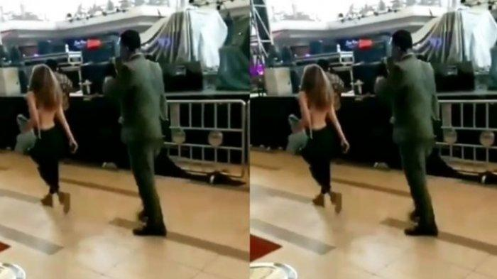 Video Wanita Tiba-Tiba Buka Baju Telanjang Dada di Dalam Mal Bekasi, Benarkah Gegera Gerah?