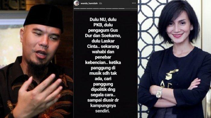 Viral Ahmad Dhani Disindir Wanda Hamidah, Ini Jawaban Mengejutkan Suami Mulan Jameela
