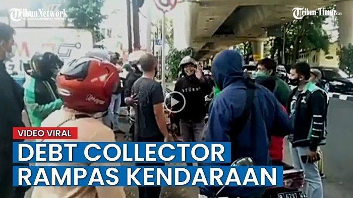 VIDEO: Viral Debt Collector Berulah Lagi Rampas Motor, Polisi Beri Tips Lari Kesini Jika Bertemu
