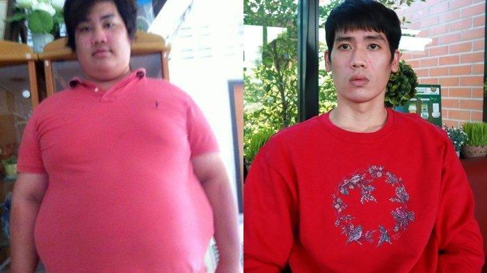 Cara Pria ini Turunkan Berat Badan dari 156 Kg Kini Sisa 70 Kg Hanya Dalam 1 Tahun Viral di Facebook