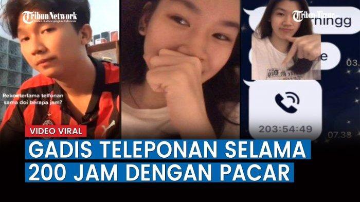 VIDEO Viral Pasangan Kekasih Teleponan Hingga 200 Jam Lebih, Apa yang Mereka Bicarakan?