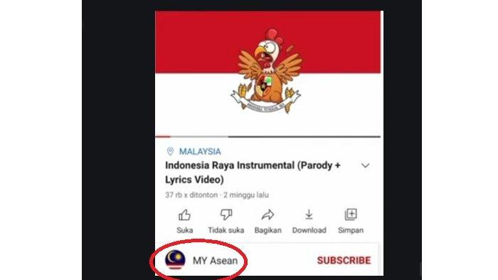 Kanal YouTube MY Asean