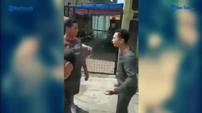 VIDEO: Mengaku TNI Lalu Mengamuk, Pria Ini Minta Maaf Karena Didatangi Orang Berpangkat Lebih Tinggi