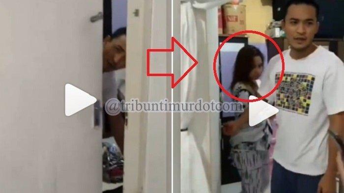 VIRAL Video Detik-detik Pramugara Digerebek Istri Sah, Terciduk Berduaan di Kamar dengan Pramugari