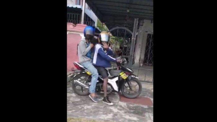 Video Seorang Wanita Kaget Pergoki Maling Sudah Masuk Teras Rumah, Begini Pengakuan 2 Pelaku