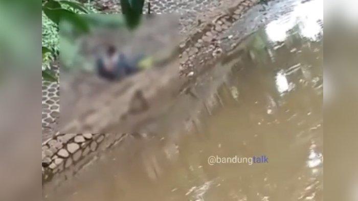 Video Panas Sepasang Pelajar di Pinggir Sungai Cikapundung Bandung Viral di Instagram (IG)