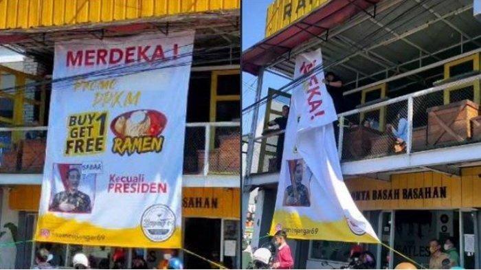 Nasib Pemilik Warung Setelah Viral Promo Beli 1 Dapat 1 untuk Semua Tapi Tidak untuk Presiden Jokowi