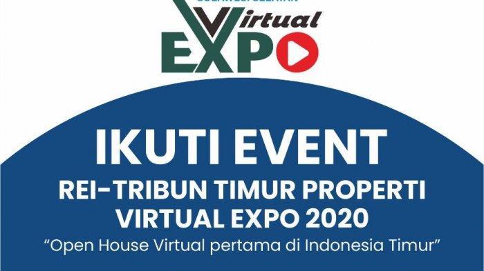 Virtual Expo REI-Tribun Timur 2020, Anda Dibawa Serasa Masuk Rumah