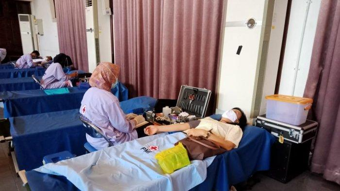 Vox Point Indonesia DPW Makassar Gelar Donor Darah, Target 300 Kantong Terkumpul
