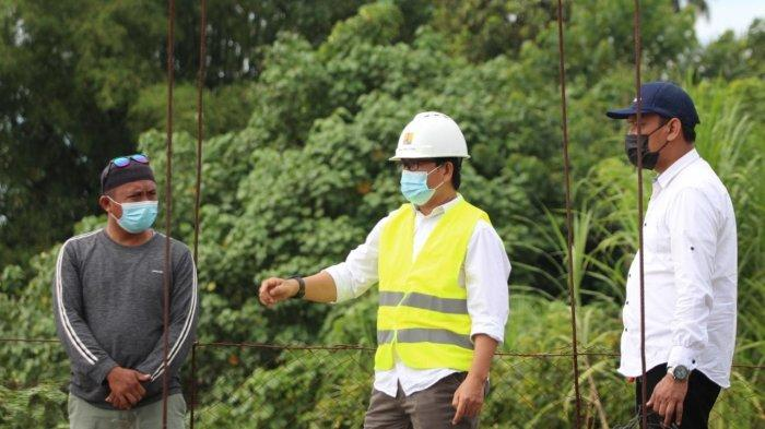 Wabup Luwu Utara Janji Perbaiki Jembatan Gantung Penghubung Desa Pongo dan Bumi Harapan