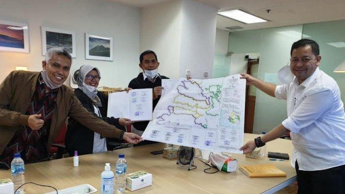 Wabup Takalar Achmad Se're Dampingi Pengesahan Tata Batas Bendungan Pamukkulu di Jakarta