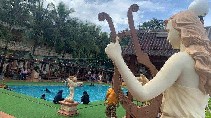 H-16 Ramadan 1442 H , Wahana Wisata Pantai di Galesong Takalar Mulai Fully Book
