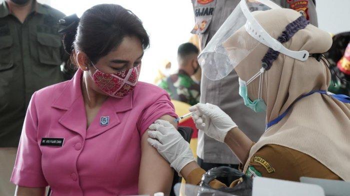 Vaksin Tahap Kedua di Luwu, 97 Polisi dan 50 TNI