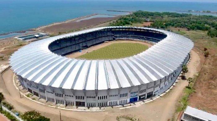 Wajah Stadion Barombong.