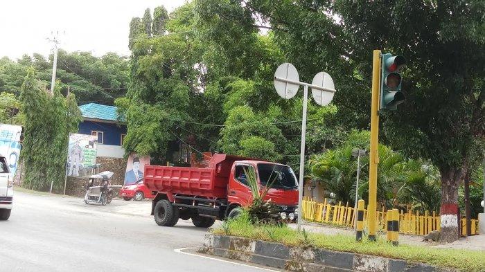Rawan Kecelakaan, Traffic Light di Dekat Kantor Bupati Wajo Tidak Berfungsi