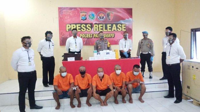 Polres Pasangkayu Ringkus Komplotan Curat, Amankan 39 Unit Ponsel Curian
