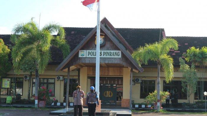 Resmi Jabat Wakapolres Pinrang, Kompol Muhabar Pimpin Apel Pagi Perdana