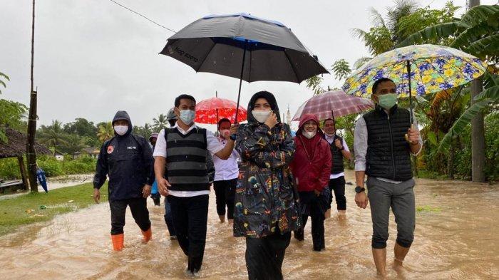 Tinjau Lokasi Banjir, Wakil Bupati Maros Imbau Warga Tetap Waspada