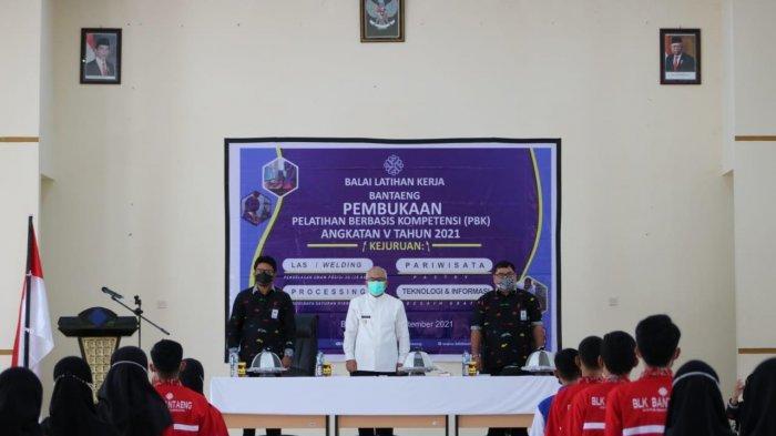 Wabup Sahabuddin Buka Pelatihan Angkatan V BLK Bantaeng