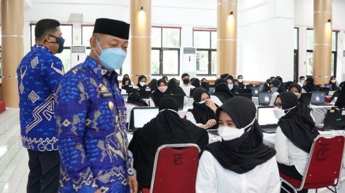 Empat Hari, 1.918 Peserta CPNS Pemkab Gowa Ikut Ujian SKD