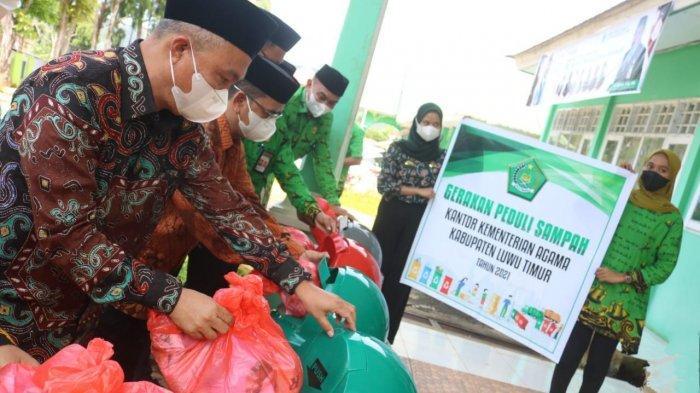 Wakil Bupati Luwu Timur Launching Gerakan Sejuta Koin untuk Pesantren dan Madrasah