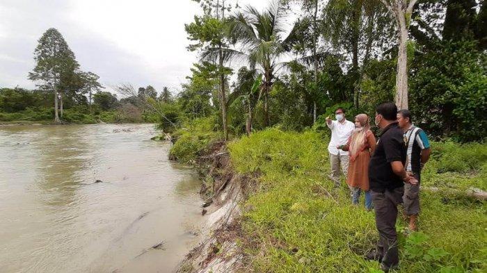 Erosi Sungai Masamba di Desa Laba, Wabup Luwu Utara: Segera Kita Normalisasi