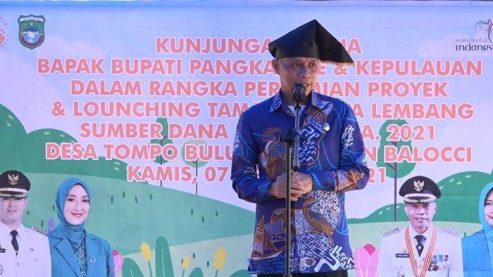 Syahban Sammana Resmikan Taman Wisata Lembang Tompo Bulu
