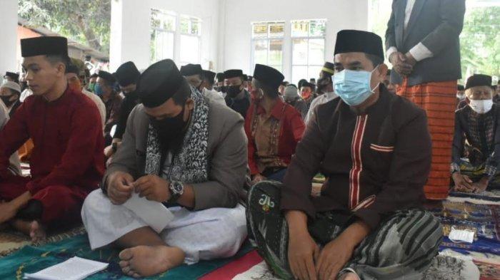 Wakil Bupati Takalar Salat Iduladha di Masjid Ainun Yaqin
