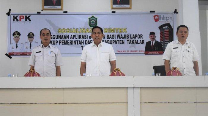Wakil Bupati Harap Pejabat Takalar Laporkan Harta Kekayaannya
