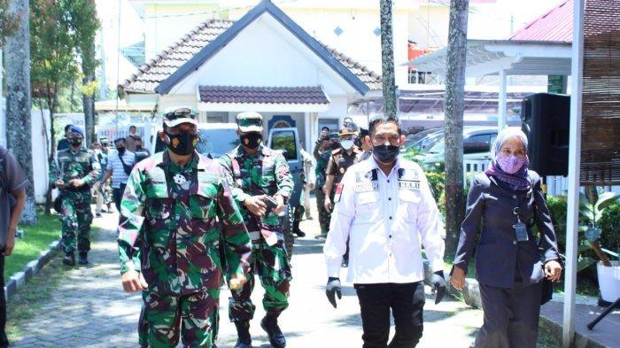 Wabup Takalar Dampingi Danlantamal VI Makassar Survey Lokasi Pembangunan Pos AL
