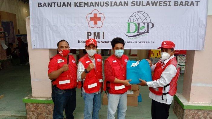 PMI Jaksel Salurkan 700 Paket Sembako untuk Penyintas Gempa Bumi Sulbar