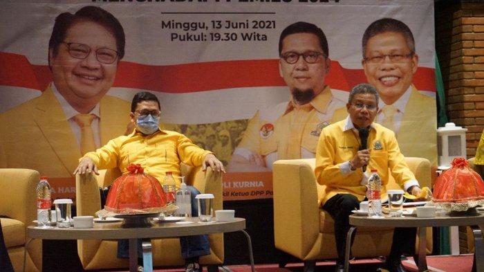 Waketum Golkar Ahmad Doli Doakan Taufan Pawe Jadi Gubernur Sulsel 2024
