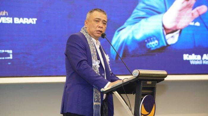 Ahmad Ali Target Nasdem Peringkat ke 2 Nasional di Pileg 2024: Sebaik-baiknya Peringkat 1