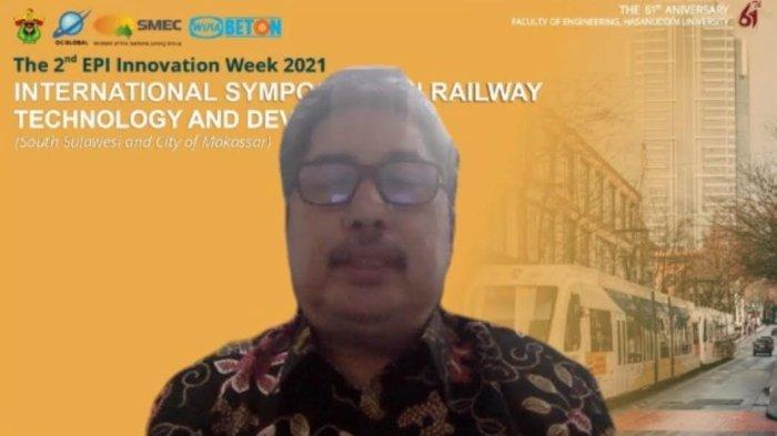 Simposium Perkeretaapian, Prof Muh Restu Ungkap Peran Penting Teknik Unhas