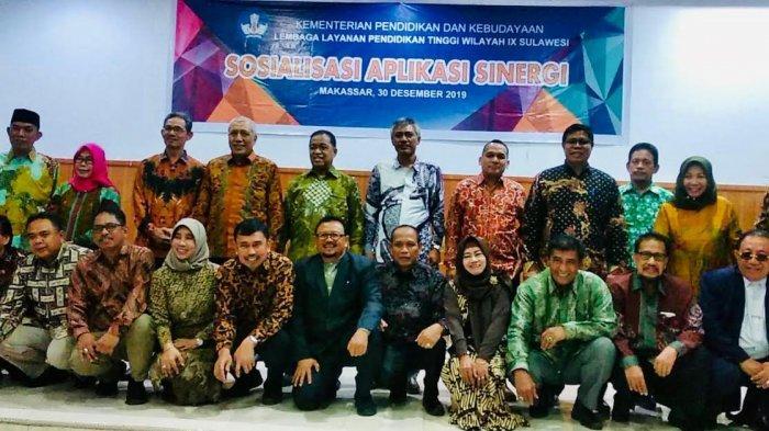 Tiga Profesor dan Wakil Rektor I Unismuh Makassar Dilantik Jadi Dewan Etik Dosen LLDIKTI IX